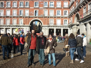 Colo, Douglas e Gardenia [Madrid 2012]